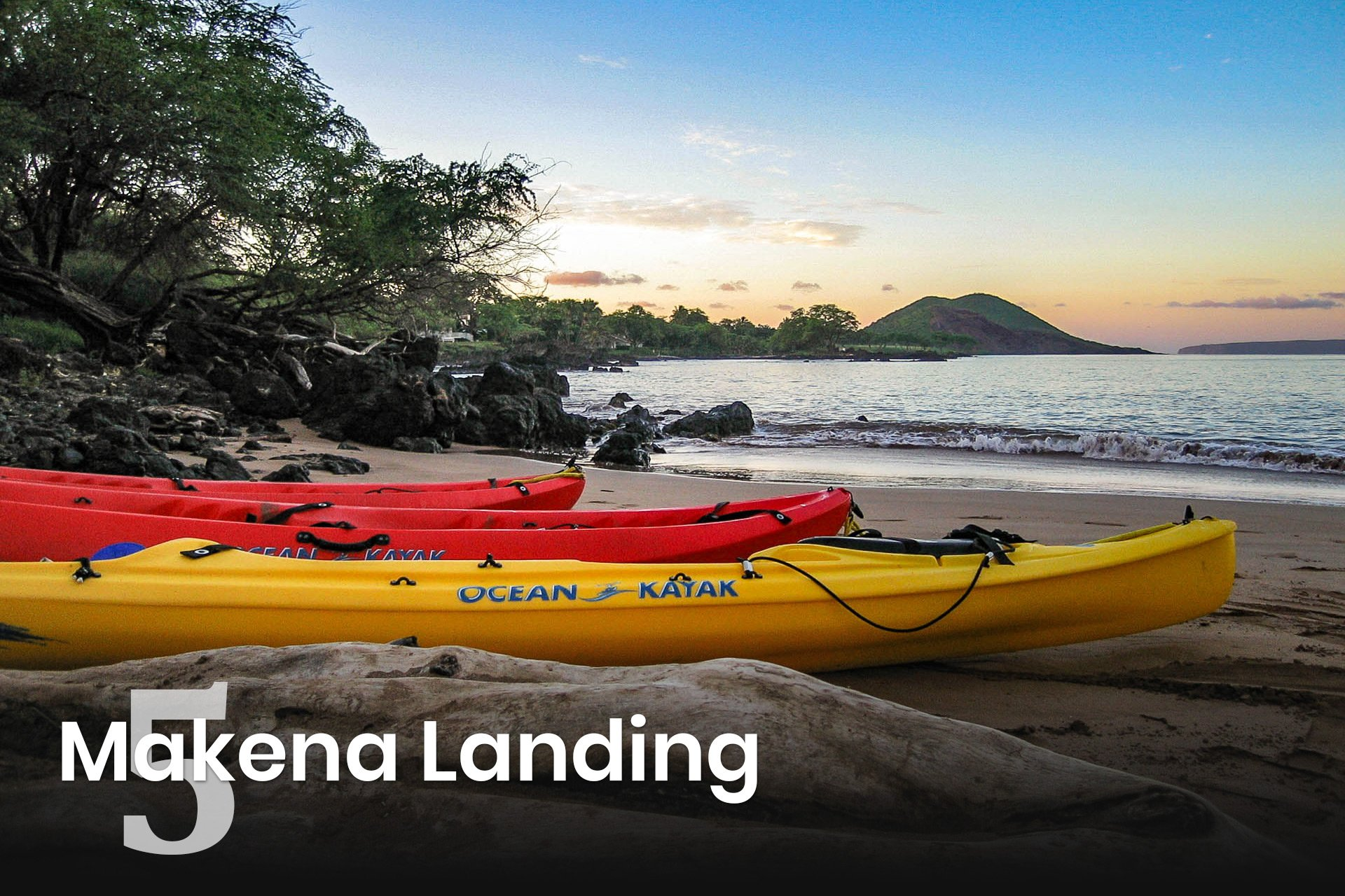 Makena Landing Sunrise Kayaks