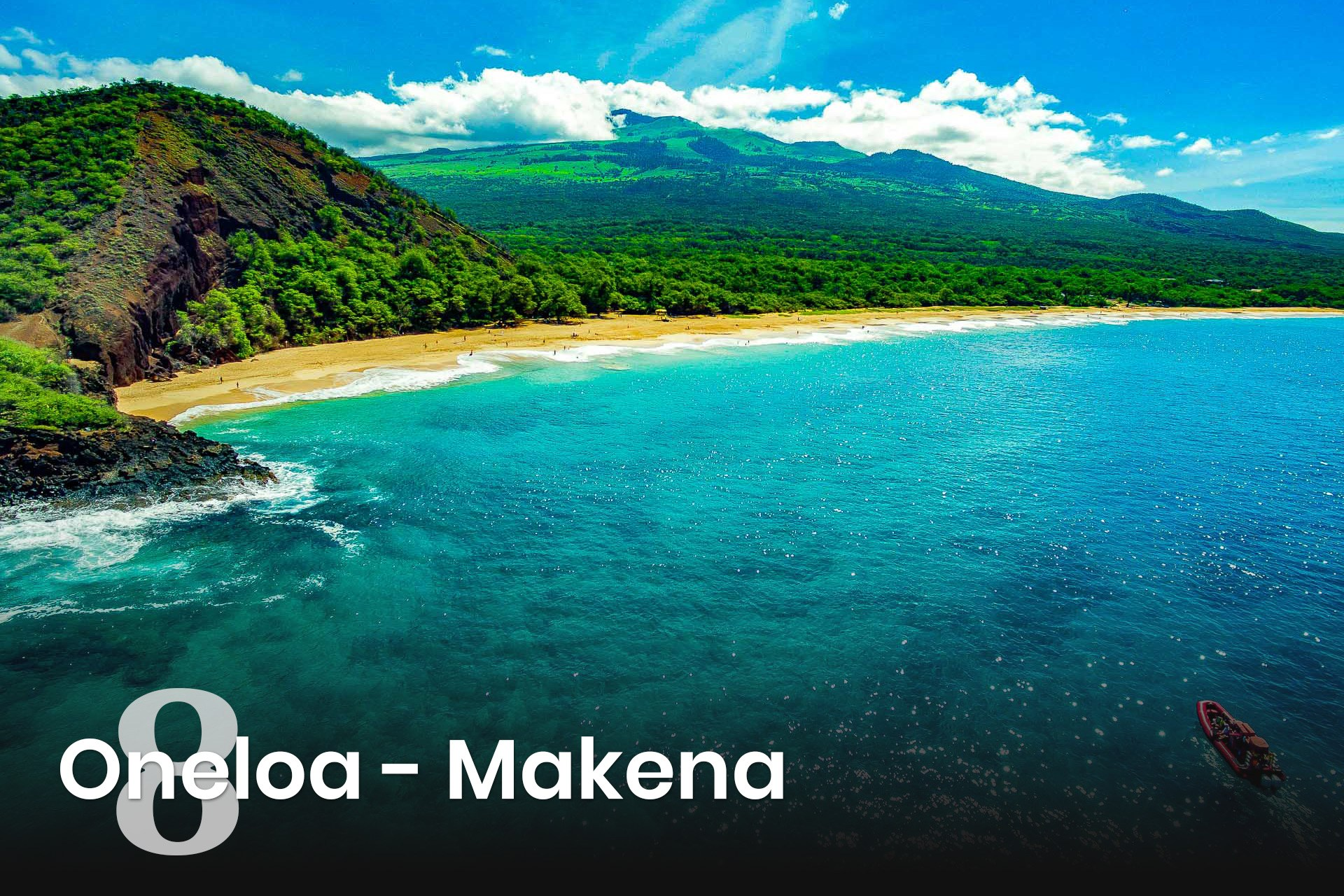 DJI Makena Beach And Haleakala Redline Raft