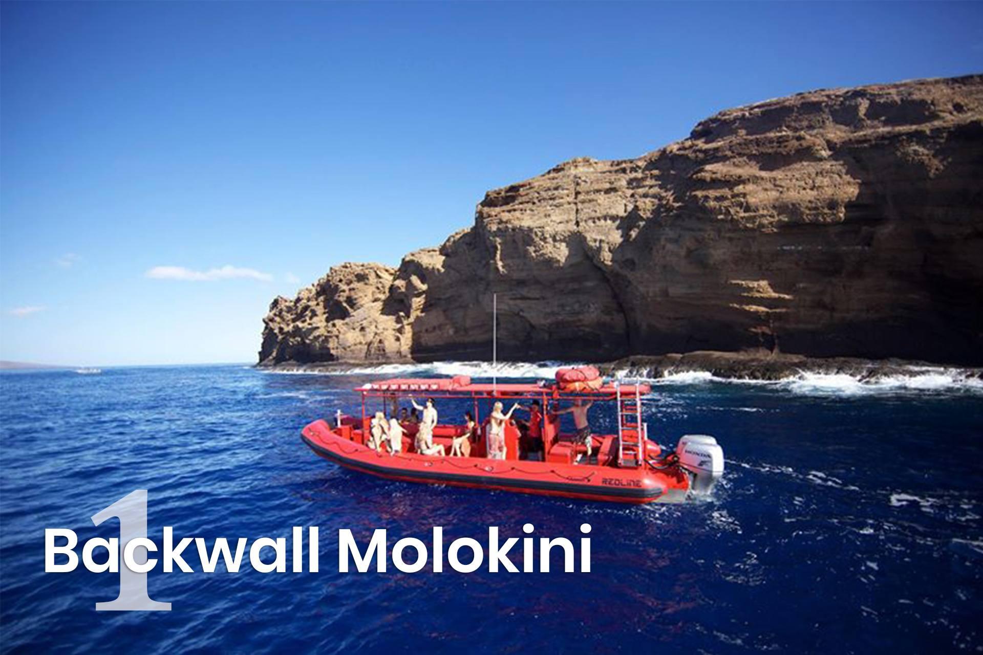 Backwall Molokini
