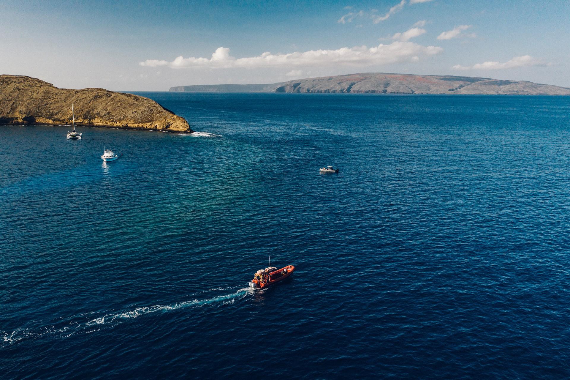 Redline Rafting Molikini Snorkel Tours