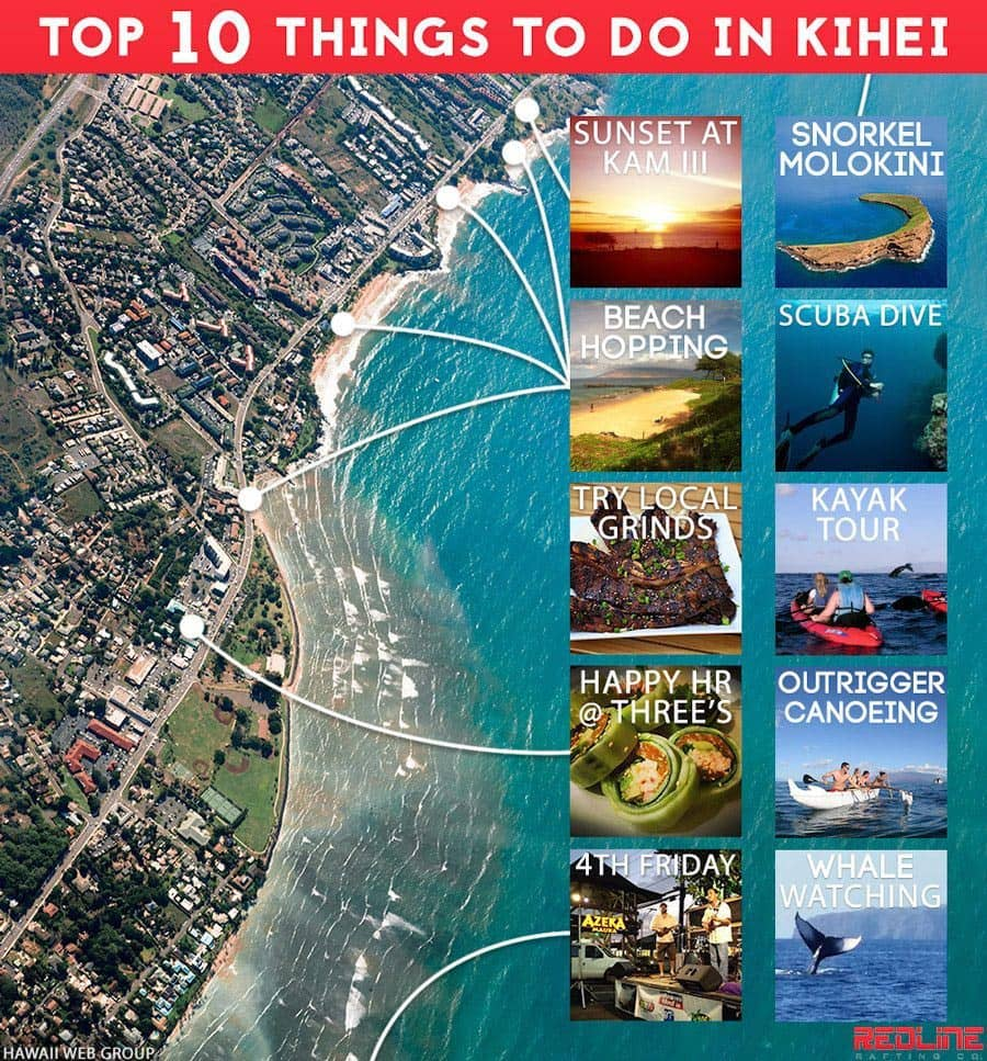top 10 things to do in kihei